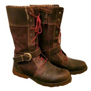 Timberland calf length boots